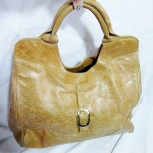 FOLEY & CORINNA Leather HOBO Handbag Satchel Tote